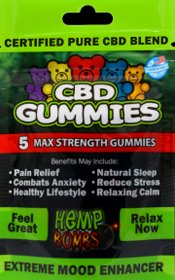 CBD Gummies-hempbombs