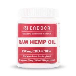 Endoca raw hemp oil