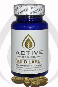 Discover CBD gold label