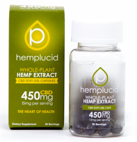 Hemplucid Softgels