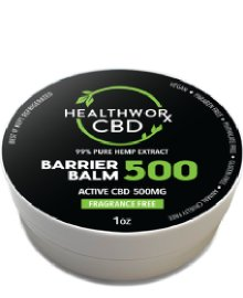 HealthWorld CBD Barrier Balm 500