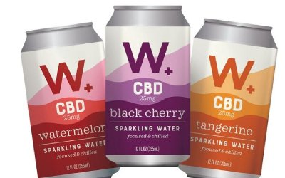 Weller's CBD-Infused Sparkling Waters