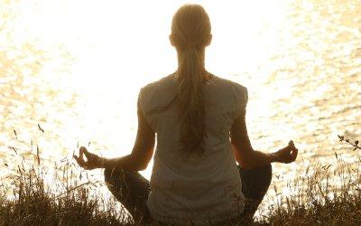 Yoga Calms Mind