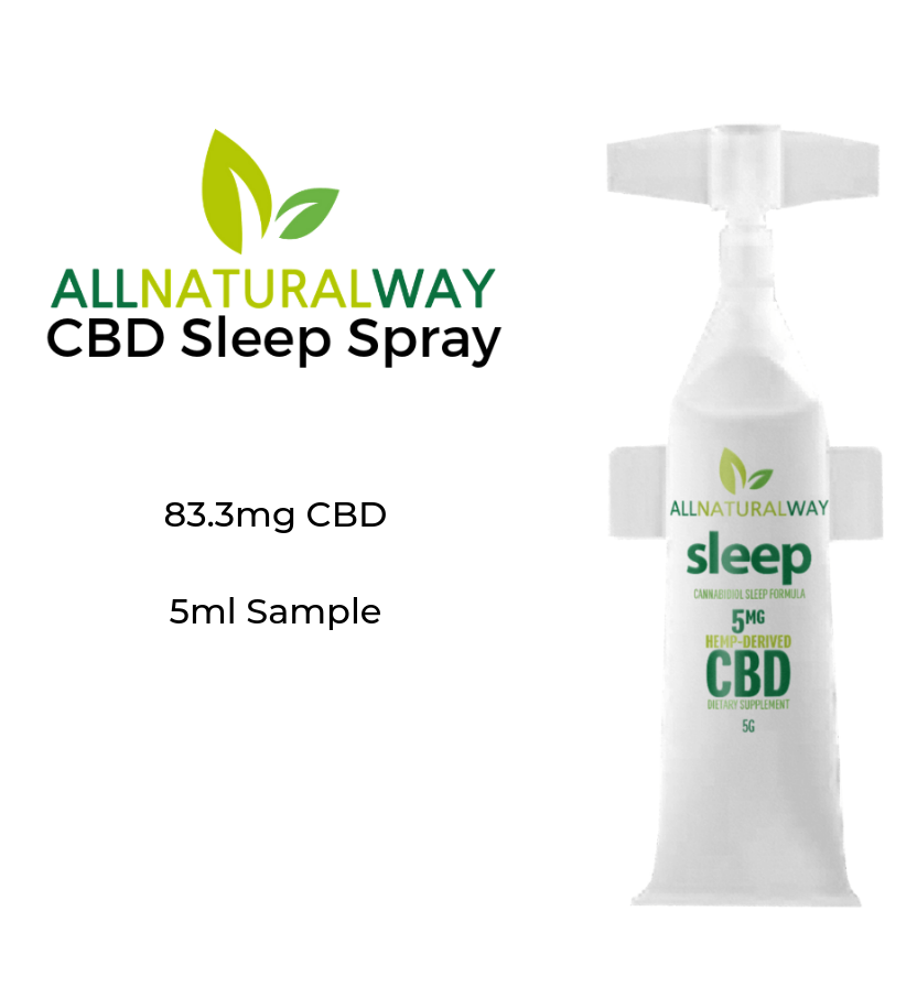 All Natural Way CBD Sleep Spray
