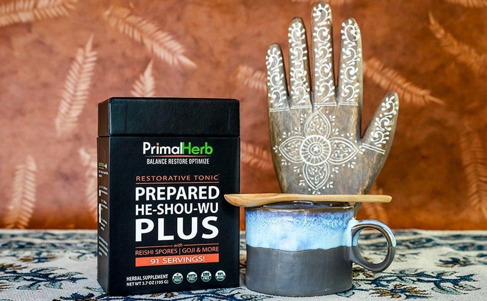 Primal Herb Prepaid He Shou Wu Plus
