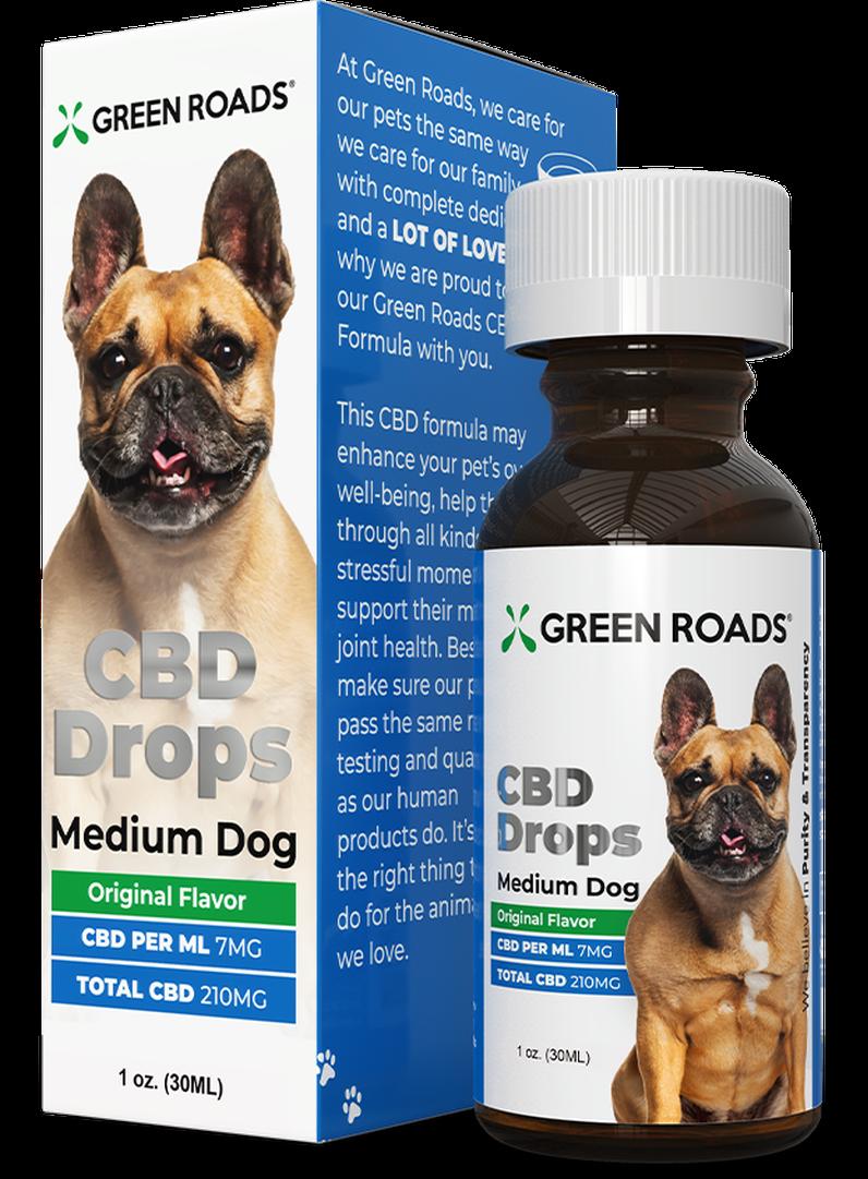 PET CBD DROPS MEDIUM DOG