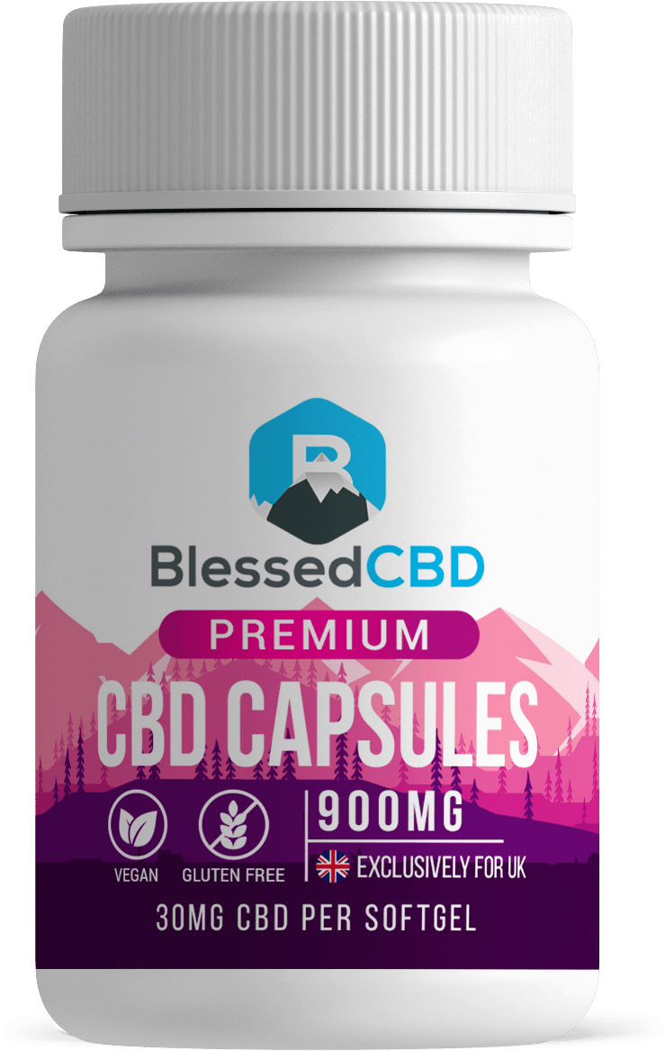 Blessed CBD Capsules